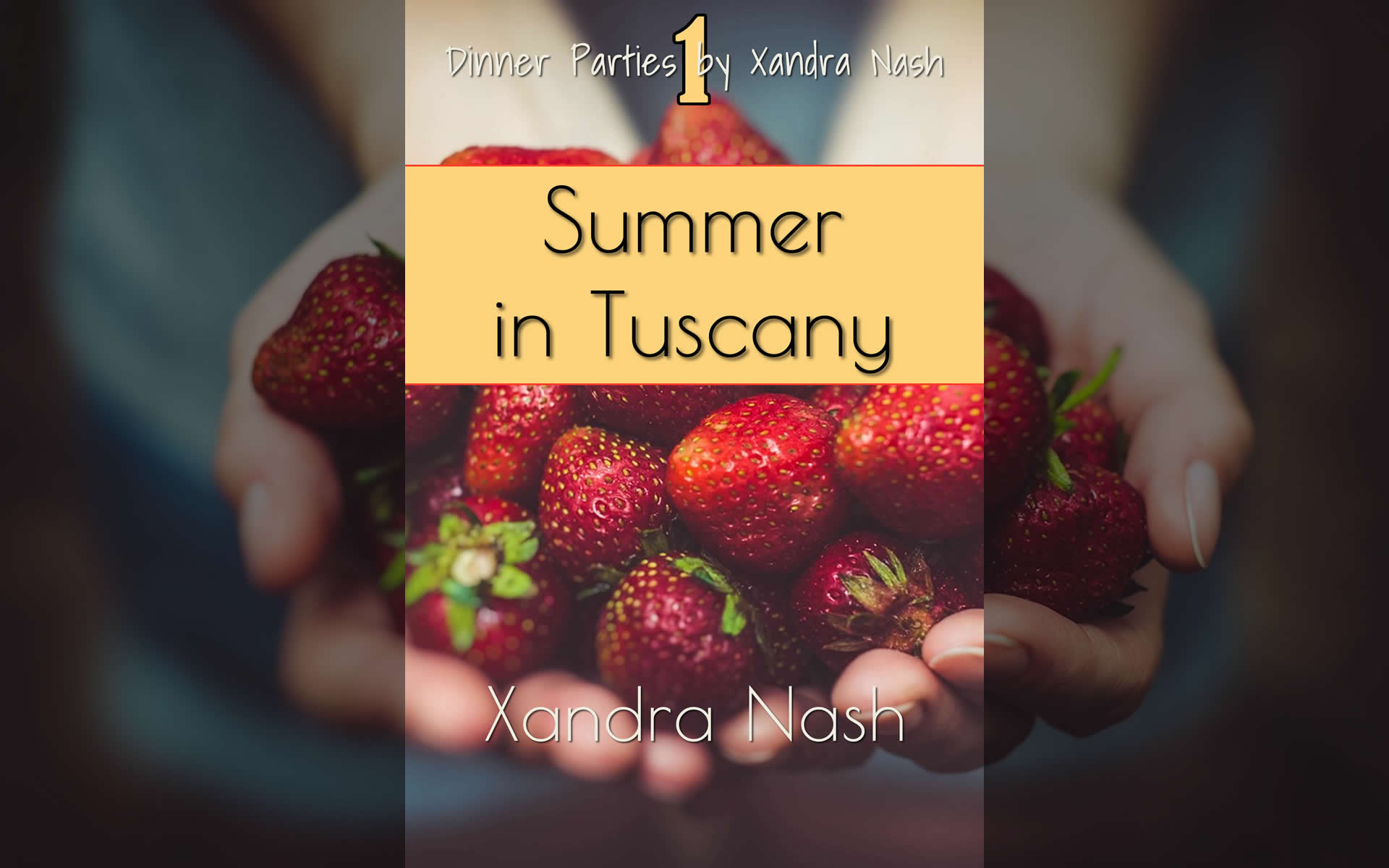 Summer in Tuscany - Dinner Party how-to book by Party Planner Xandra Nash